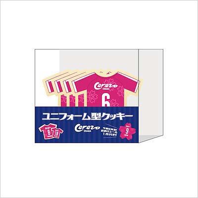 885ee667c3d95 ユニフォーム型クッキー(桜シール付き) 500円(税込)